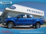 2012 Blue Flame Metallic Ford F150 XLT SuperCrew 4x4 #69727612