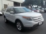 2013 White Platinum Tri-Coat Ford Explorer Limited #69727596