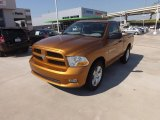 2012 Tequila Sunrise Pearl Dodge Ram 1500 Express Regular Cab #69727937