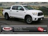 2012 Super White Toyota Tundra TRD Rock Warrior CrewMax 4x4 #69727522
