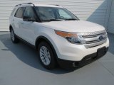 2013 White Platinum Tri-Coat Ford Explorer XLT EcoBoost #69727821
