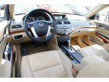 2009 Honda Accord EX-L V6 Sedan Ivory Interior