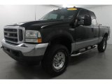 2003 Black Ford F250 Super Duty XLT SuperCab 4x4 #69727443