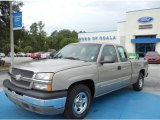 2003 Light Pewter Metallic Chevrolet Silverado 1500 LS Extended Cab #69791783