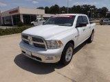 2010 Stone White Dodge Ram 1500 Lone Star Crew Cab #69792022