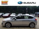 2012 Ice Silver Metallic Subaru Impreza 2.0i Premium 5 Door #69791774