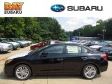 2012 Obsidian Black Pearl Subaru Impreza 2.0i Limited 4 Door #69791773