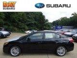 2012 Obsidian Black Pearl Subaru Impreza 2.0i Premium 4 Door #69791772