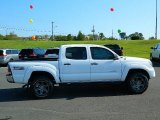 Super White Toyota Tacoma in 2013