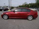 2011 Vermillion Red Metallic BMW 3 Series 328i Sedan #69791988