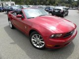 2011 Red Candy Metallic Ford Mustang V6 Premium Convertible #69791973