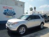 2013 Ingot Silver Metallic Ford Explorer XLT #69791722