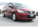 2012 Deep Claret Red Metallic Volkswagen Routan SE #69792208