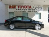 2012 Attitude Black Metallic Toyota Camry LE #69791700