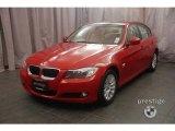 2009 Crimson Red BMW 3 Series 328xi Sedan #6954709