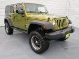 2008 Jeep Wrangler Unlimited Rescue Green Metallic