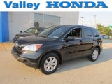 2009 Crystal Black Pearl Honda CR-V EX-L 4WD #69791647