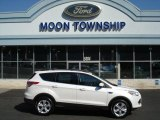 2013 White Platinum Metallic Tri-Coat Ford Escape SE 1.6L EcoBoost 4WD #69791882