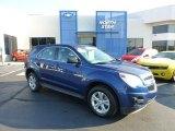 2010 Navy Blue Metallic Chevrolet Equinox LS AWD #69791879