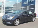 2013 Pacific Blue Pearl Hyundai Sonata Limited #69791573
