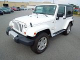 2011 Bright White Jeep Wrangler Sahara 4x4 #69792118
