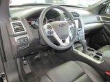 2013 Ford Explorer XLT Charcoal Black Interior