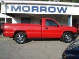 2007 Victory Red Chevrolet Silverado 1500 Classic Work Truck Regular Cab #69791799