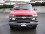 2005 Victory Red Chevrolet Silverado 1500 Z71 Extended Cab 4x4 #6957330