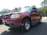 2001 Toreador Red Metallic Ford Explorer Sport #69841922