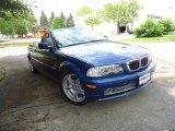 2002 Topaz Blue Metallic BMW 3 Series 330i Convertible #69841909