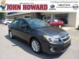 2012 Dark Gray Metallic Subaru Impreza 2.0i Premium 4 Door #69841562