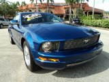 2009 Vista Blue Metallic Ford Mustang V6 Coupe #69841201