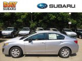 2012 Ice Silver Metallic Subaru Impreza 2.0i 4 Door #69841193
