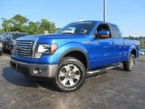 2011 Blue Flame Metallic Ford F150 FX4 SuperCab 4x4 #69841182