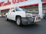 2005 Summit White Chevrolet Silverado 1500 LS Crew Cab #69841165