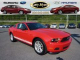 2012 Race Red Ford Mustang V6 Coupe #69841829