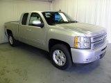 2012 Silver Ice Metallic Chevrolet Silverado 1500 LT Extended Cab #69841498