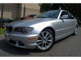 2005 Titanium Silver Metallic BMW 3 Series 330i Coupe #69841108