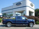 2012 Dark Blue Pearl Metallic Ford F250 Super Duty XLT Crew Cab 4x4 #69841099