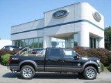 2012 Tuxedo Black Metallic Ford F250 Super Duty Lariat Crew Cab 4x4 #69841098