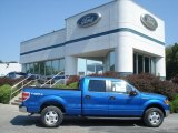 2012 Blue Flame Metallic Ford F150 XLT SuperCrew 4x4 #69841091