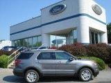 2013 Sterling Gray Metallic Ford Explorer XLT 4WD #69841085
