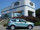 2013 Frosted Glass Metallic Ford Escape S #69841082