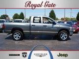 2007 Mineral Gray Metallic Dodge Ram 1500 Big Horn Edition Quad Cab 4x4 #69841759