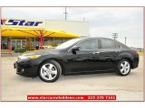 2010 Crystal Black Pearl Acura TSX Sedan #69841465