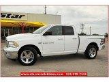 2011 Bright White Dodge Ram 1500 Big Horn Quad Cab #69841460