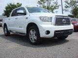 2010 Super White Toyota Tundra Limited CrewMax 4x4 #69841033