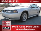 2003 Silver Metallic Ford Mustang V6 Coupe #69841714