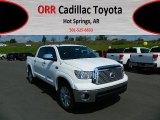 2012 Super White Toyota Tundra Platinum CrewMax 4x4 #69841412