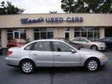 2001 Bright Silver Saturn L Series L200 Sedan #69841391
